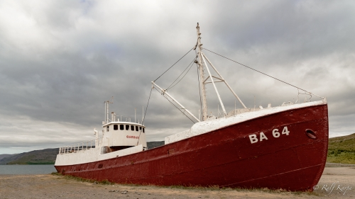 Gardar, oldest steel ship in Iceland (stranded 1981)