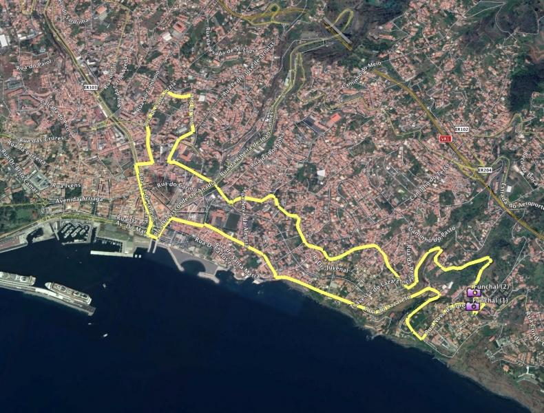 Short-Trip 01 Route