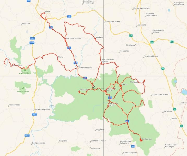 Italy-2017 GPS