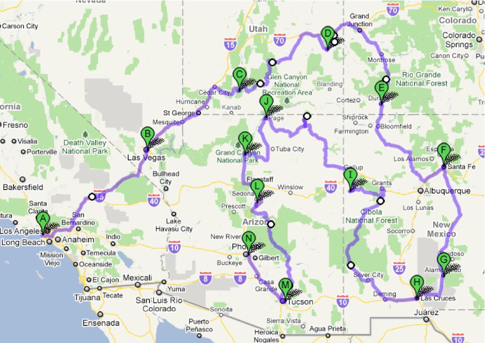 South-West Tour